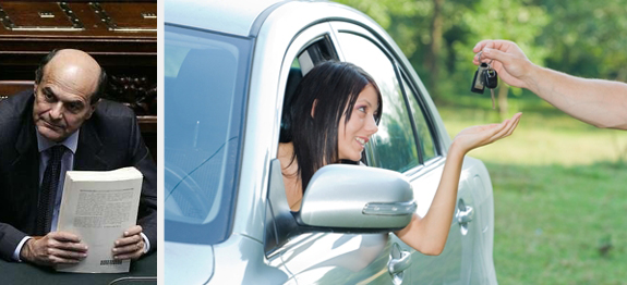 Legge Bersani Rc auto giovani